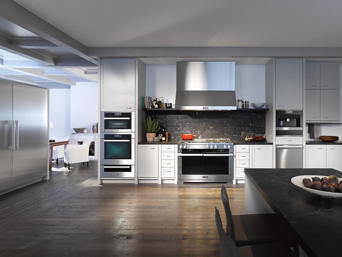 Miele range hoods dar 1260 wall mounted d cor hood - Miele kitchen cabinets ...