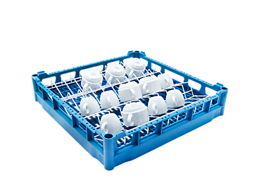 U 508 - Plastic basket For the optimum loading of cups.--NO_COLOR
