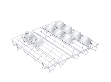 E 809 - Lower basket insert, plastic coated --NO_COLOR