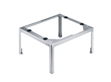 UO 30-60/80 - Support, open For the ergonomic loading and unloading of a dishwasher - height 30 cm.--stainless steel exterior