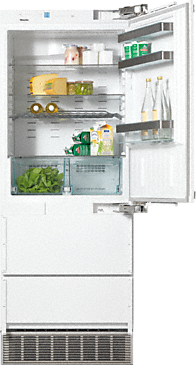 KFN 9855 iDE - Built-in fridge-freezer combination Maximum convenience thanks to generous large capacity and IceMaker.--