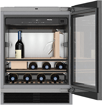 KWT 6312 UGS - Built-under wine storage system for great enjoyment and timeless design with its Push2open and SommelierSet--NO_COLOR