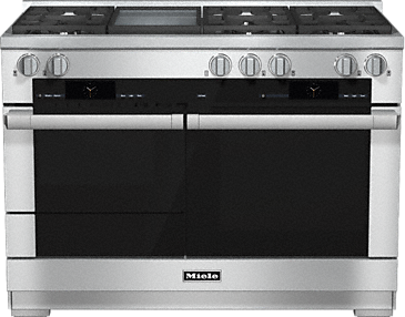 HR 1956-2 G - 48 inch range - the Dual fuel all-rounder for the highest demands.--Stainless steel