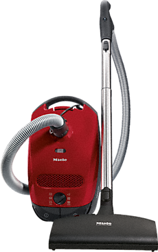 Classic C1 Cat&Dog PowerLine - SBBN0 - Canister vacuum cleaners with electrobrush for cleaning of heavy-duty carpeting - ideal for pet lovers.--Mango red