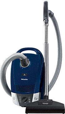 Compact C2 TotalCare PowerLine - SDAE0 - Canister vacuum cleaners with high suction power for thorough vacuuming.--Marine Blue