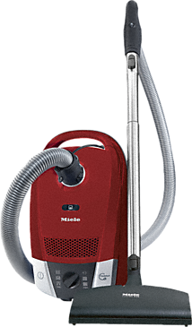 Compact C2 Cat & Dog PowerLine SDBE4 - Canister vacuum cleaners with maximum suction power for thorough, convenient vacuuming.--Mango red