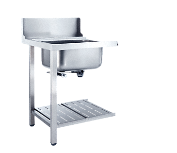 T 625-1 BUL - Additional table With sink for installation to the left-hand side of the dishwasher.--NO_COLOR