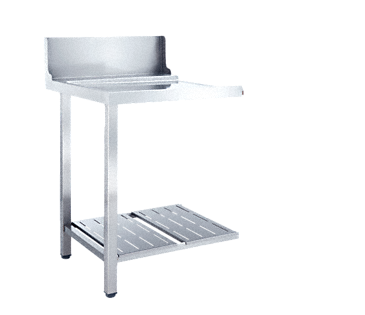 T 625-1 UL - Universal table Without sink for installation to the left-hand side of the dishwasher.--NO_COLOR