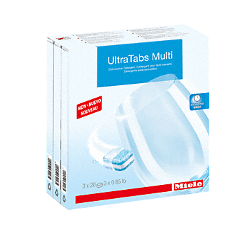 GS CL 0604 T - UltraTabs Multi, 60 units for best cleaning results in Miele dishwashers.--NO_COLOR
