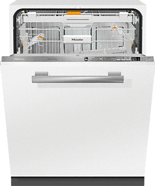 G 6665 SCVi AM - Fully-integrated, full-size dishwasher --Stainless steel/CleanSteel