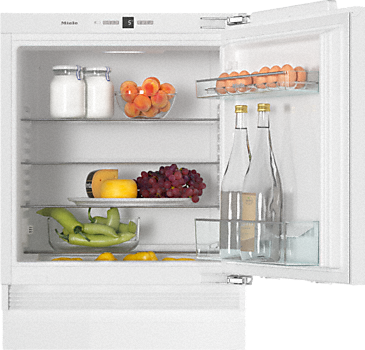 K 31222 Ui - Built-under refrigerator Compactly designed with a practical interior layout.--White