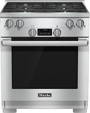 HR 1724 LP - 30 inch range in Dual Fuel model with DirectSelect.--Stainless steel