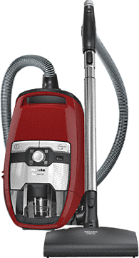 Blizzard CX1 Cat & Dog Turbo PowerLine - SKCE0 - Canister vacuum cleaner without bag with maximum suction power and foot controls for thorough, convenient vacuuming.--Mango red