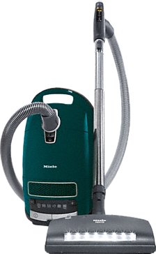Complete C3 PowerPlus PowerLine - SGNE0 - Canister vacuum cleaners with handle controls and electrobrush with LED for the highest demands.--Petrol