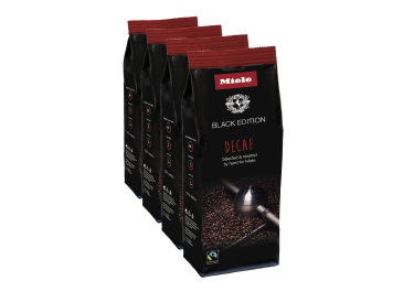 Miele Black Edition DECAF 4x250g - Miele Black Edition Decaf Perfect for making decaffeinated specialty coffees.--NO_COLOR