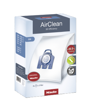 GN AirClean 3D - AirClean 3D Efficiency GN dustbags ensures that dust picked up stays inside the machine.--NO_COLOR