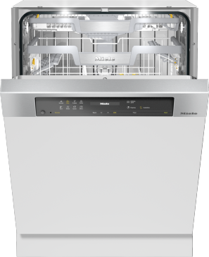 G 7516 SCi AutoDos - Integrated, full-size dishwasher --Stainless steel/CleanSteel